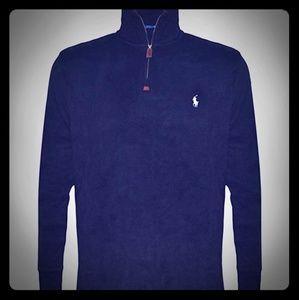 RL Polo Half-Zip Cotton Sweater